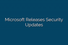 Microsoft Releases Security Updates